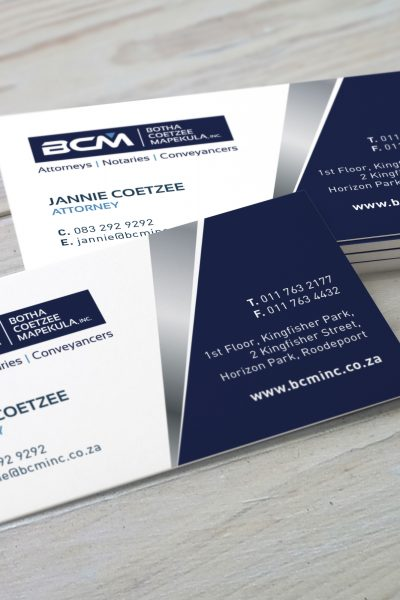 BCM Business Cards